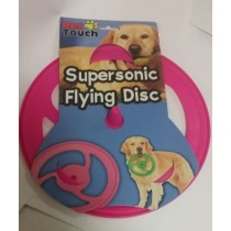 SUPERSONIC FLYING DISC FOR PET DOGS - ASSORTED COLOURS