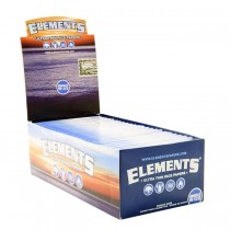 Elements Ultra Thin Rice Cigarette Papers - Single Wide - Box Of 50