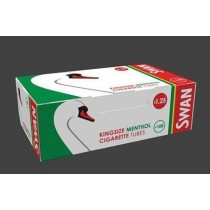 Swan Kingsize Menthol Cigarette Tubes - Pack Of 100 - Price Marked £1.05