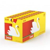 "Swan ""Pop-up"" Slim Pre Cut Filter Tips - Box of 20 Packs"