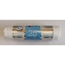 Tidyz Strong Fragranced Swing Bin Liners with Tie Handles - 50 Litres - Pack of 25 - 90 x 120cm