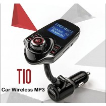T10 Multi-functional Car Wireless MP3