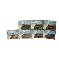 A to Z Build & Play Army Tank Model Kit - Assorted Models - 13 x 10 x 3.5cm - For Kids Age 8+