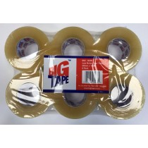 Rolls Of Low Noise Clear Tape - Big Tape / Low Noise - 48mm x 150m