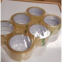 Bopp Clear Packing Tape - 1Inch - 24Mm X 66 Metres