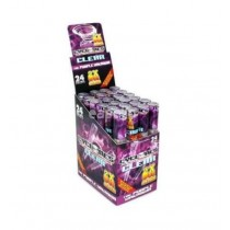 Cyclones Pre Rolled Transparent Cone - The Purple Unknown - Pack Of 24 x 2