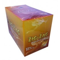 Zig Zag Resealable Finest Quality Regular Filter Tips - Box Of 1000