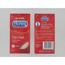 DUREX THIN FEEL - PACK OF 12 - EXP 03/22