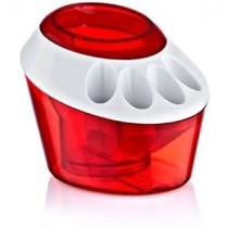Plastart Toothbrush Holder - Red