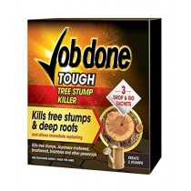Job Done Tough Tree Stump Killer Sachets - Pack of 3 x 8G