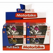 Toy Pull Back Motorbike