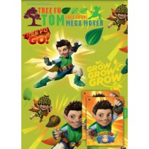 Tree Fu Tom Gift Wrapping Papers & Tags - Pack of 2 - 50cm X 69.5cm
