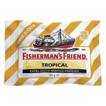 Fisherman's Friend - Tropical - Extra Frische Menthol - Pastillen - 25 Grams