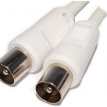 Pifco Tv Fly Lead Male Plug To Male Plug - 4 Metres