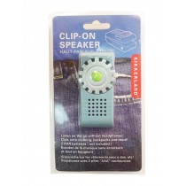 CLIP-ON SPEAKER WITH AUX CABLE