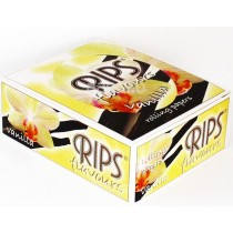Rips Flavoured Cigarette Paper Rolls - Vanilla - Pack Of 24 Rolls