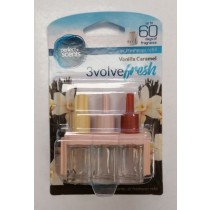 Perfect Scents - 3volve Fresh - Air Freshener Refill - Pack Of 3 - Vanilla Caramel
