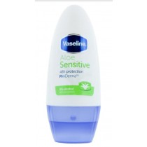 Vaseline ProDerma Roll On Antiperspirant Deodorant - Aloe Sensitive - 50Ml