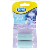 Scholl Velvet Smooth Pedi Exfoliator Refill for Feet & Legs - Dry & Wet - Pack of 2