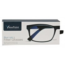 View Point Optical Blue Light Filter Glasses +0.00 - Strength PD 62MM