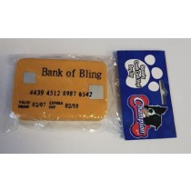 Squeaky Credit Card Vinyl Dog Toy
