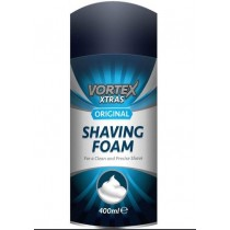 Vortex Xtras Shaving Foam For Men - Original - 400ml