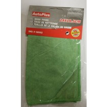QUALITY AUTOPLUS WASH TOWEL CLEANING CLOTH - GREEN - 24 x 18.5cm