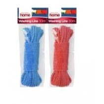 Washing Line - 30 Metres - Assorted Colours - Colours May Vary