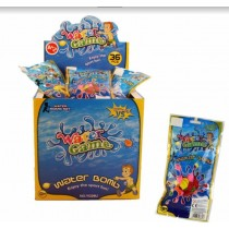 TOY WATER BOMB WITH FILLER - PACK OF 70