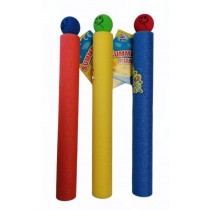 Toy Foam Water Shooter - 3 Assorted Colours - 36 x 4cm