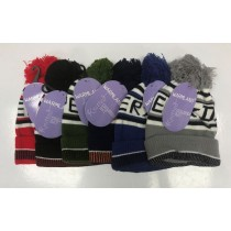 Warm Land Knitted Children Hat for Boys - Assorted Colours - 0% VAT
