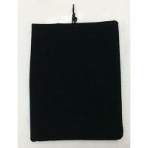 FLEECE FABRIC TABLET CASE - COLOURS MAY VARY - 28.5cm X 22cm