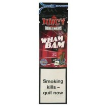 Juicy Double Blunt Wraps - Wham Bam - Pack Of 50 (25 X 2)