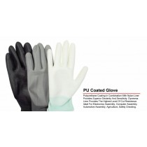 Quality Non Slip Work General Purpose Latex Coated Gloves - X-Large