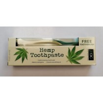 XOC Xpel Oral Care Hemp Toothpaste with Brush - 100ml
