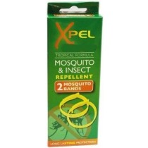 Xpel Tropical Formula Mosquito & Insect Repellent Band - Pack Of 2