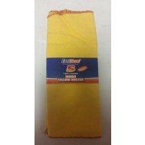 Eaziclean Jumbo Yellow Duster -  100% Cotton - Pack Of 5