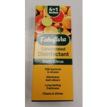 Fabuflora 4-in-1 Concentrated Disinfectant - Zesty Citrus - 150ml