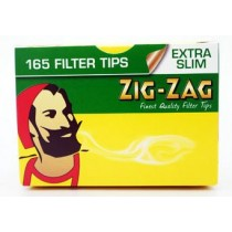 Zig Zag Extra Slim Filter Tips - Box Of 165
