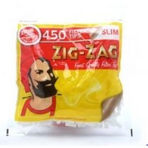 Zig Zag Resealable Slim Finest Quality Filter Tips - Pack Of 450