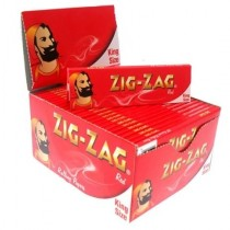 Zig Zag Red King Size Cigarette Paper - 50 Booklets